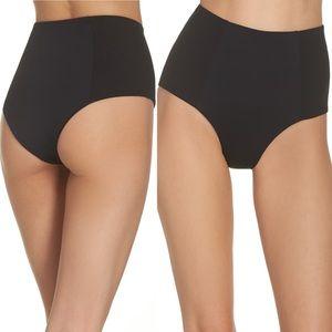 L*Space Jackie Ribbed High Waisted Bikini Bottom